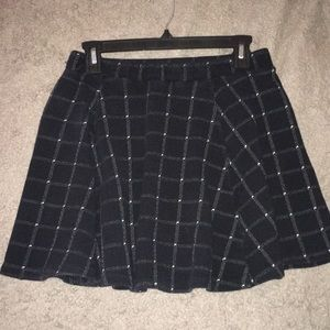 Dresses & Skirts - black and white school girl skirt